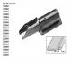AT18C(30X8X1.5MM) Фуния за лимовка за тежки материи